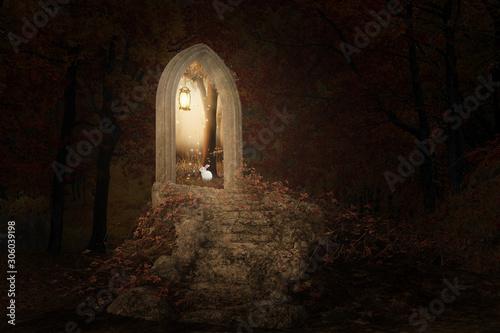fantazja-wizerunek-schody-bije-portal-luku-prowadzi-w-jaskrawego-slonecznego-dzien-3d-odplaca-sie