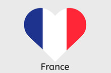 French Flag Icon, France Country Flag Vector Illustration