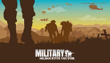 Military Vector Illustration, ...