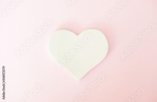 Pink Valentines day background.