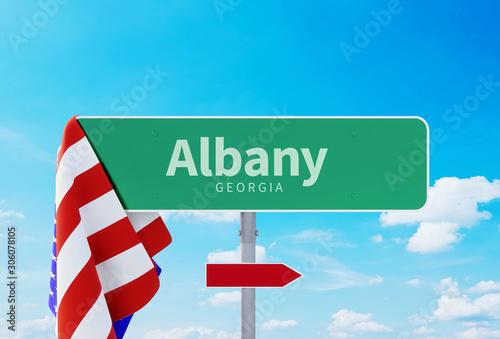 Albany – Georgia Tablou Canvas