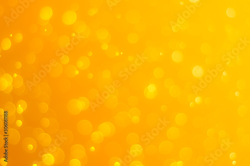 Fototapety, obrazy: gold abstract background with bokeh lights