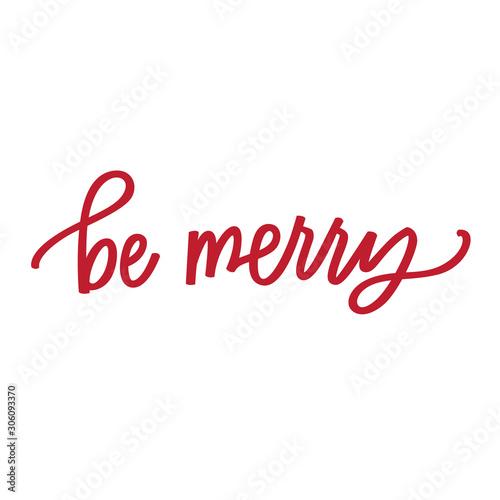 Stampa su Tela Be Merry