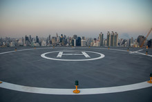 Selective Focus Of The Heli Co...
