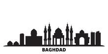 Iraq, Baghdad City Skyline Iso...