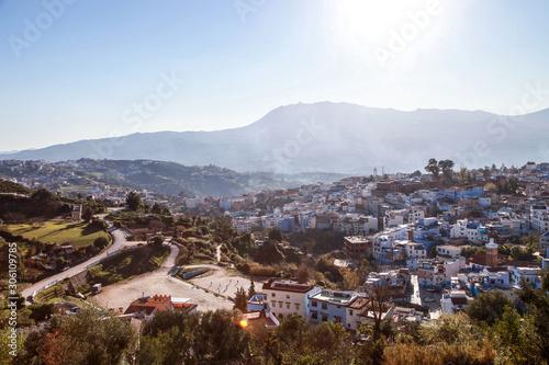 niebieskie miasto Maroka