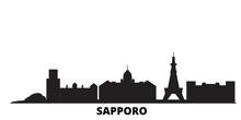 Japan, Sapporo City Skyline Is...
