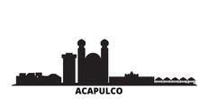 Mexico, Acapulco City Skyline ...