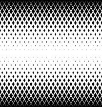 Geometric Pattern Of Black Dia...