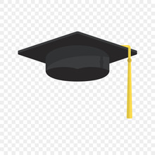 Graduation Cap Vector Isolated...
