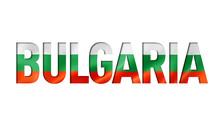 Bulgarian Flag Text Font