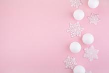 Frame Made Of White Christmas ...