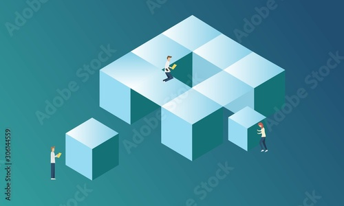 Fotografía System sorting analysis and develop arrange process