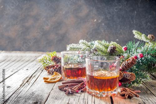Fotografija Christmas winter alcohol drink