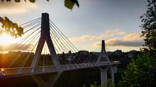 Pont à Câbles Suspendu