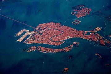 Zračni pogled na Veneciju