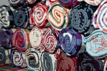 Pile Of Loincloth Fabric Thail...