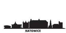 Poland, Katowice City Skyline ...