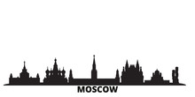 Russia, Moscow City Skyline Is...