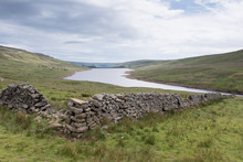 Scar House Reservoir In Nidderdale In The Yorkshire Dales, UK