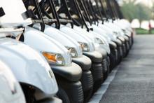 Golf Cars Or Golf Carts In A R...