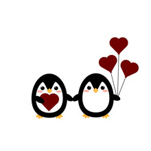 This Is Cute Penguins And Hear...