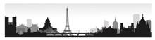 Panorama Of Paris Flat Style V...
