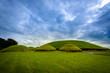canvas print picture - Knowth tumulus in the historical area of Brú na Bóinne