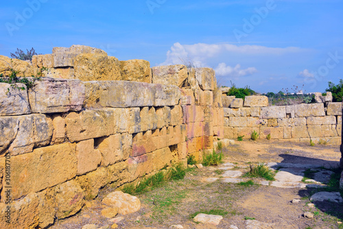 Photo archaeological park of Selinunte Castelvetrano Sicily