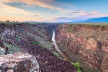 Taos, New Mexico, USA At Rio G...
