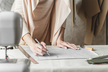 Woman Fashion Designer Created...
