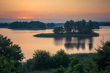 Sunrise Over The Soltmany Lake...