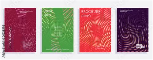 Fotografía  Minimalistic cover design templates