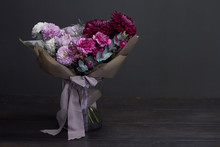 Pink And Purple Toned Bouquet ...