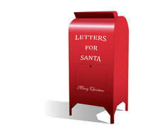 Mouse Wrote A Letter To Santa, Mailbox