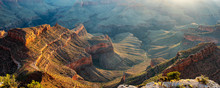 Early Morning Sun, Grand Canyon National Park - Shoshone Point