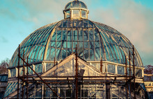 Dome Of Abandoned Glass House