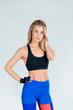 fitness room, girl model, training
