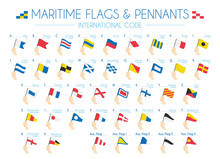 Maritime Flags And Pennants In...