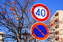Street Traffic Speed Limit And...