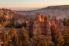 Bryce Canyon At Sunrise