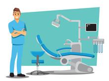 Dental Care , Vector Illustrat...