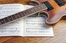Electric Guitar And Chord Book...