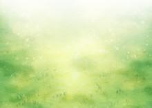 芝生 草原 背景 風...