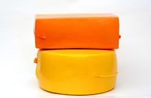 Big Cheese Head, Cheese Wheel ...