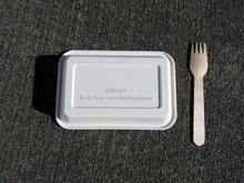 Disposable Bio Corn Starch Tra...