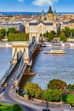 Budapest Mit Donau Und Kettenb...