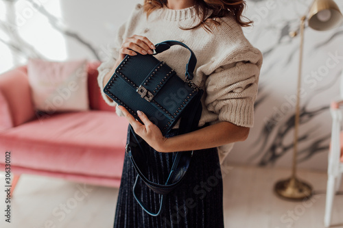 Photo bags, handbags, backpacks of various designs, different styles, for women