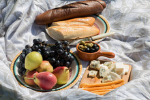 Food For The Picnic On Light-c...