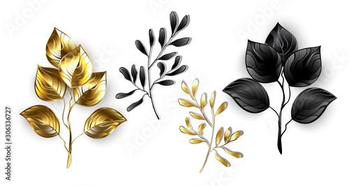 Collection of jewelry branches Slika na platnu